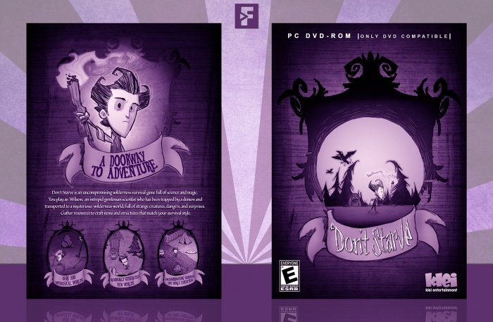 Don't Starve box art cover