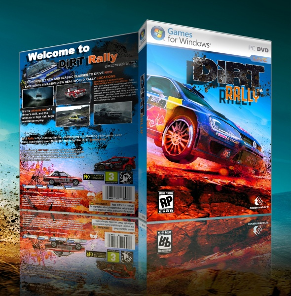Dirt Rally box art cover