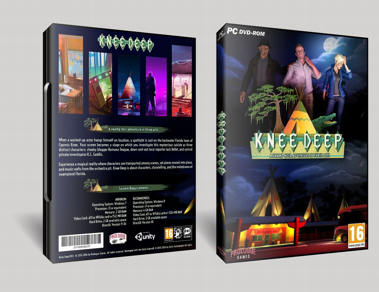 Knee Deep box cover