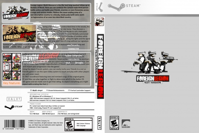 foreign legion multi massacre box art cover