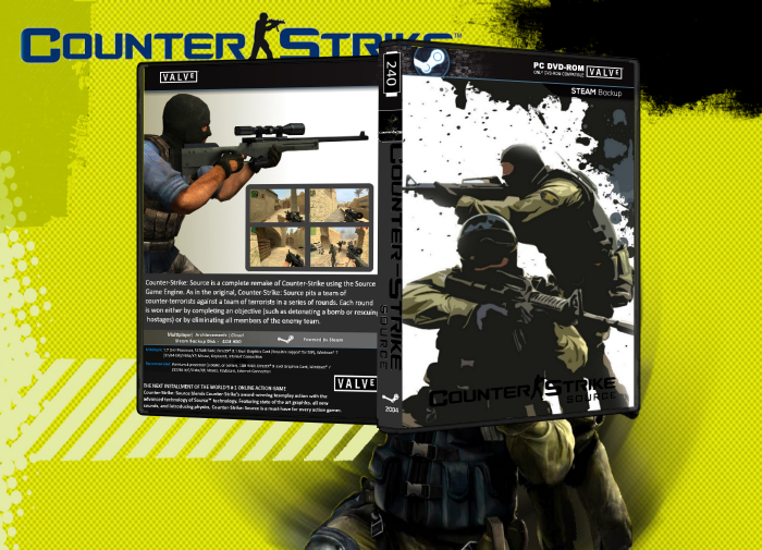 Counter Strike : Source box art cover