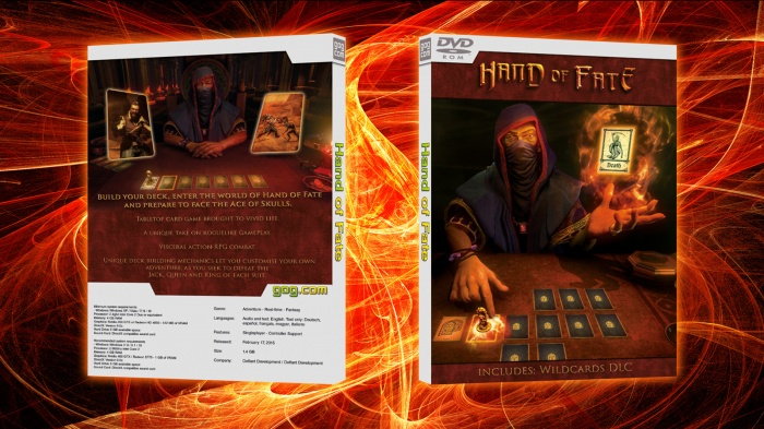 Hand of Fate box art cover