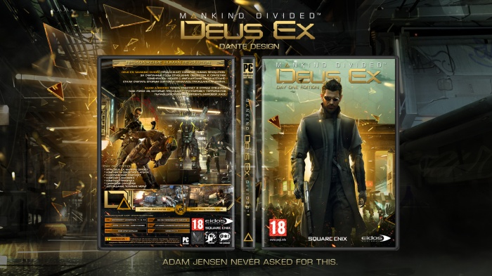 Deus Ex : Mankind Divided box art cover