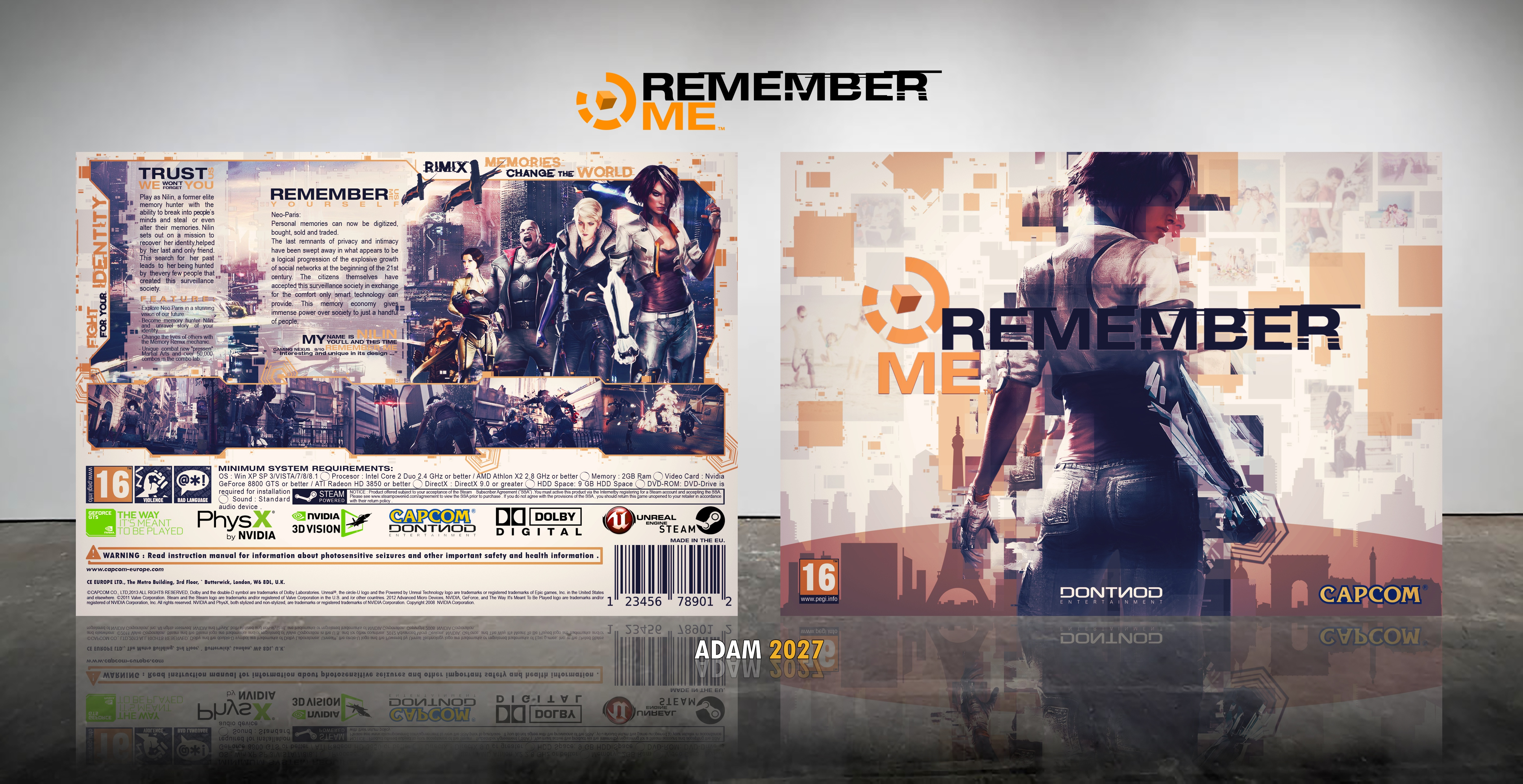 Remember Me box cover