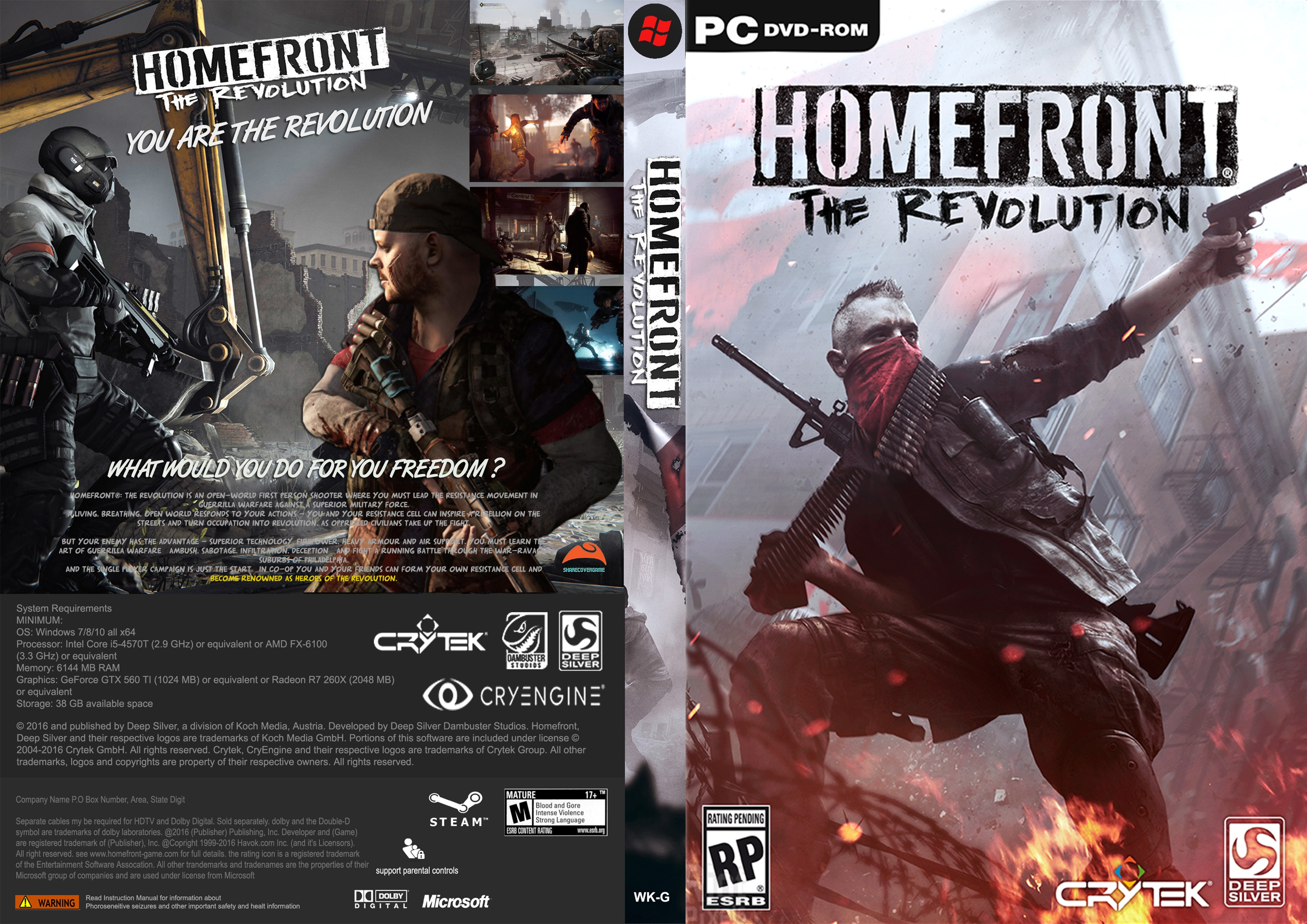 Homefront The Revolution box cover