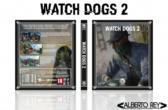 Watch Dogs 2 PC Box Art Cover by Pekenosalta Watch Dogs Ps4 Box Art