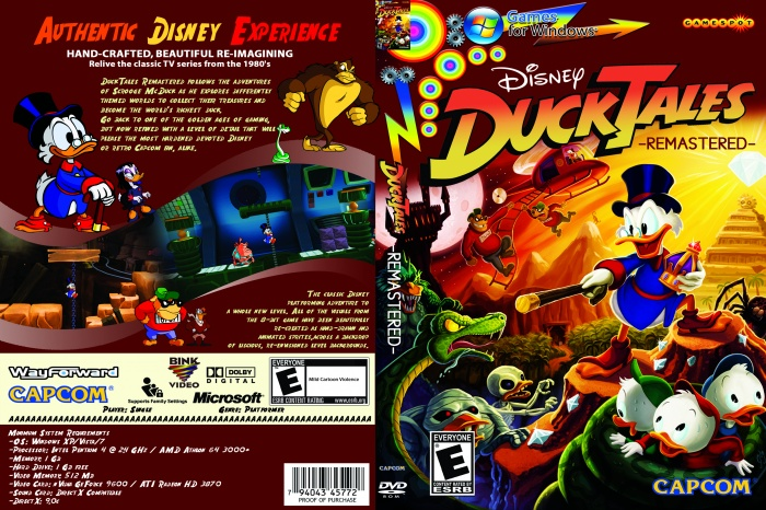 Duck Tales Remastered box art cover