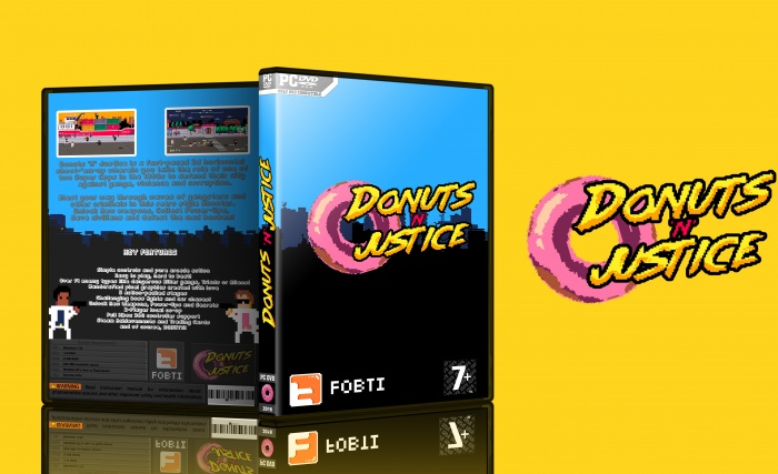 Donuts'n'Justice box art cover
