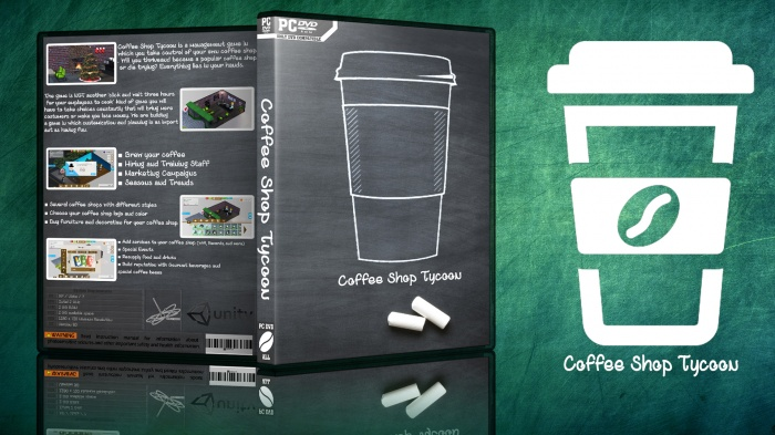 coffee shop tycoon box art cover