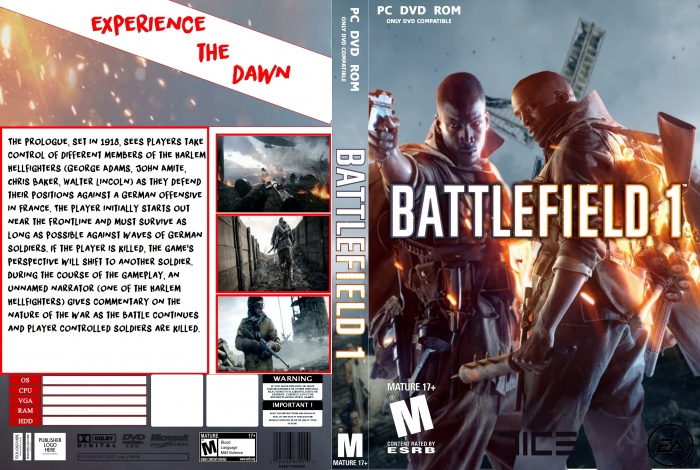 Battlefield 1 купить на pc диск