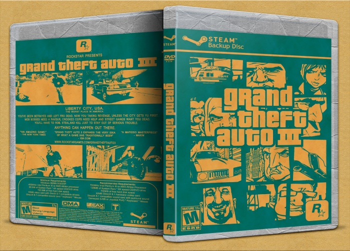 Grand Theft Auto III box art cover
