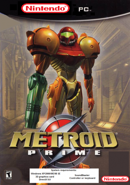 Metroid Prime box cover