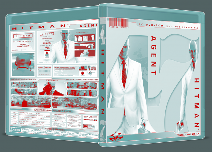 Hitman: The Complete First Season box art cover
