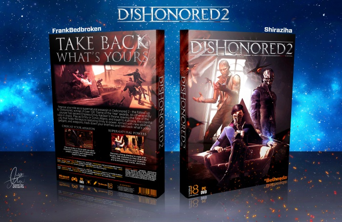 Dishonored 2 box art cover