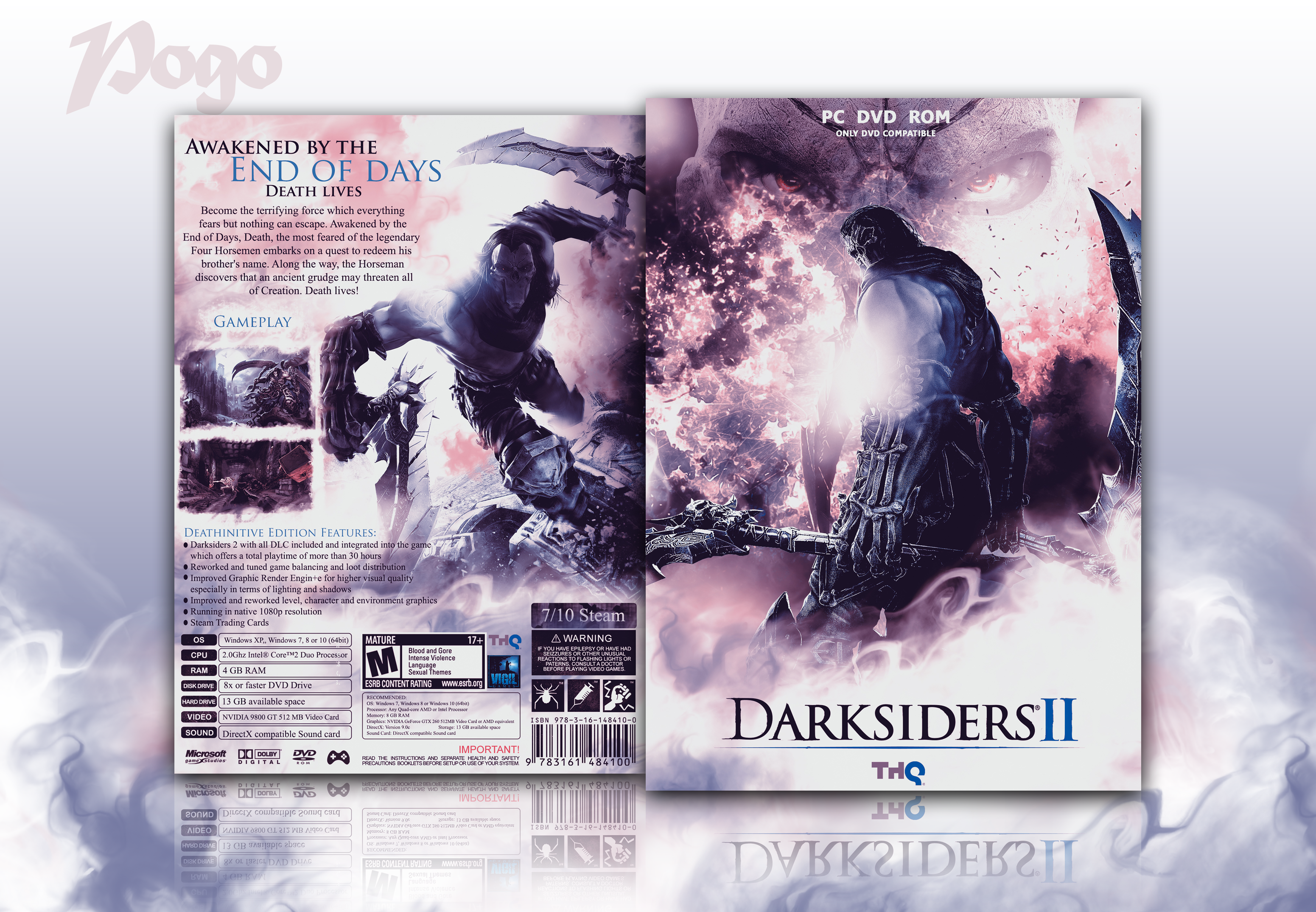Darksiders II box cover