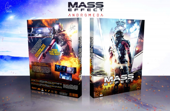Mass Effect Andromeda box art cover