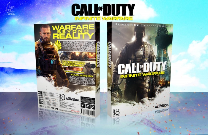Call of Duty: Infinite Warfare box art cover