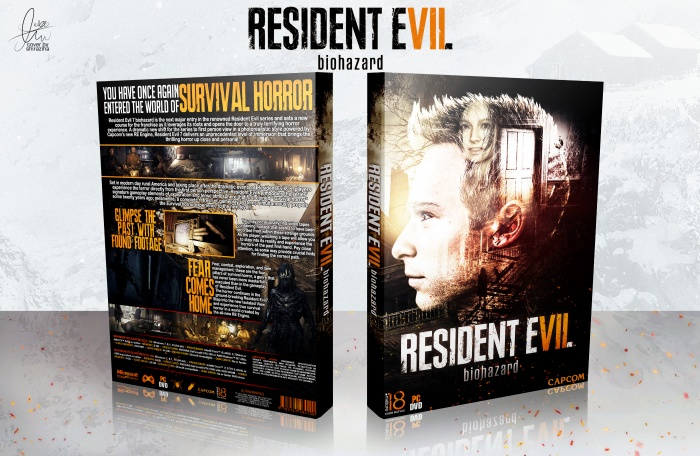 Resident Evil 7 box art cover