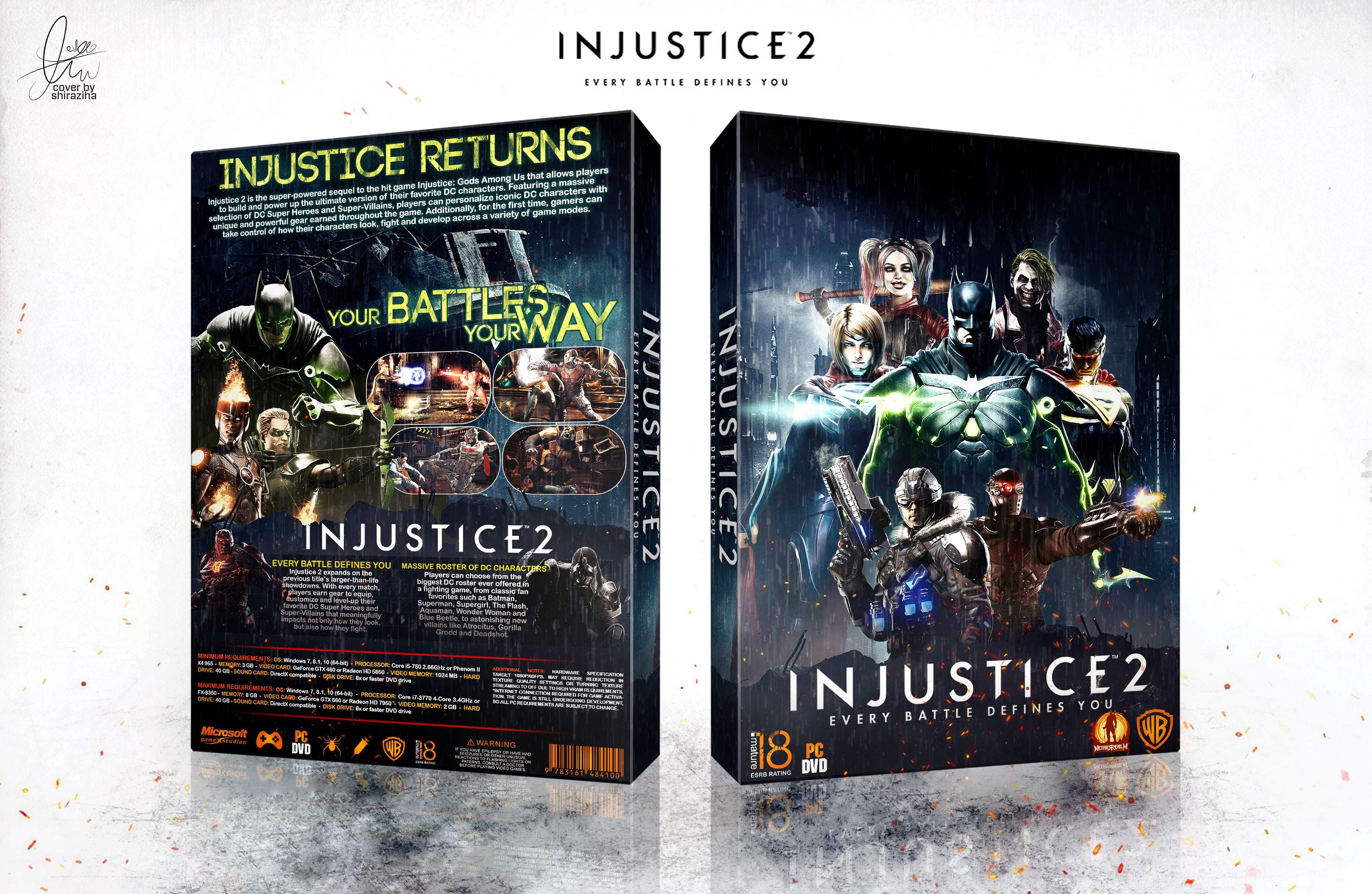 Injustice 2 box cover