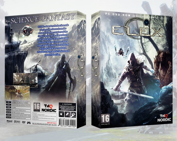 Elex box art cover