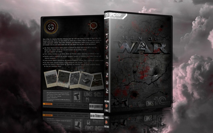 Men of War box art cover