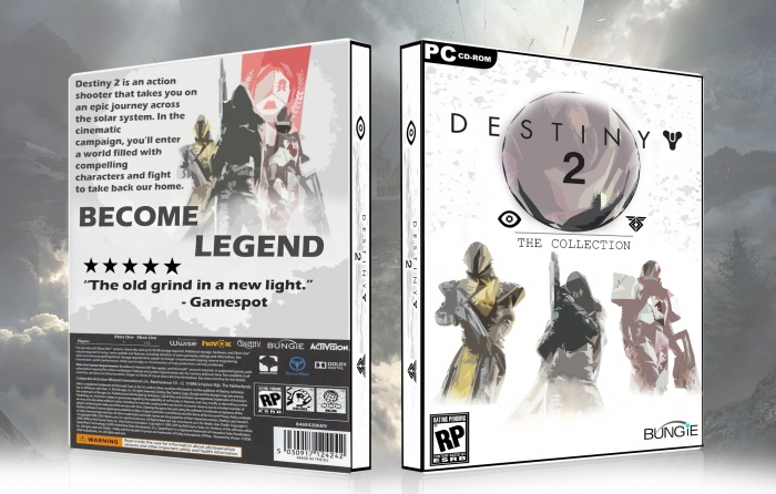 Destiny Box Art box art cover