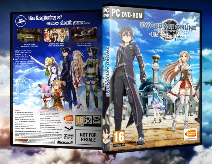 Sword Art Online: Hollow Realization box art cover