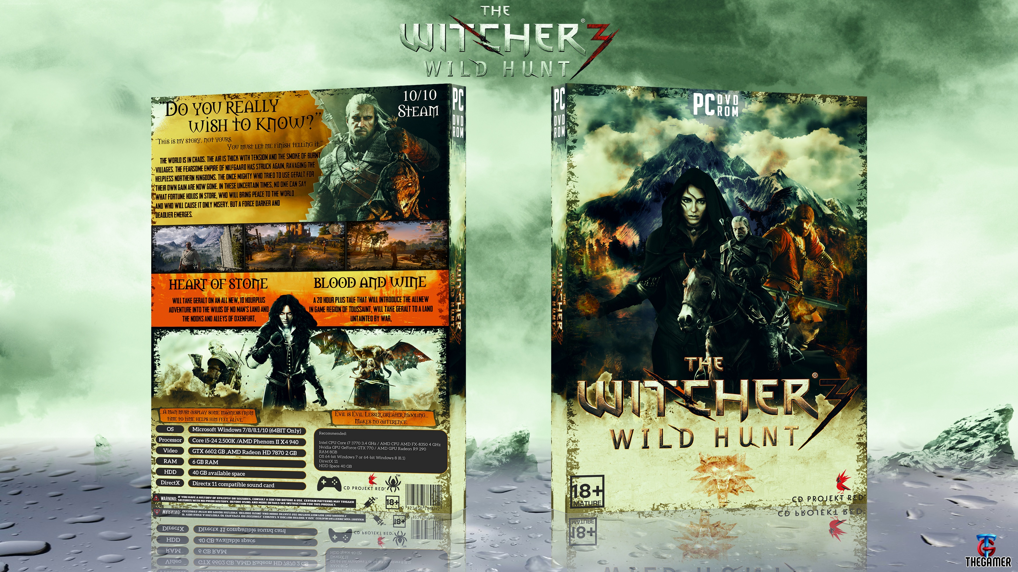 The Witcher 3: Wild Hunt box cover
