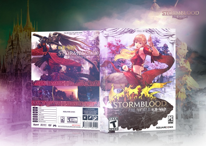 Final Fantasy XIV: Stormblood box art cover