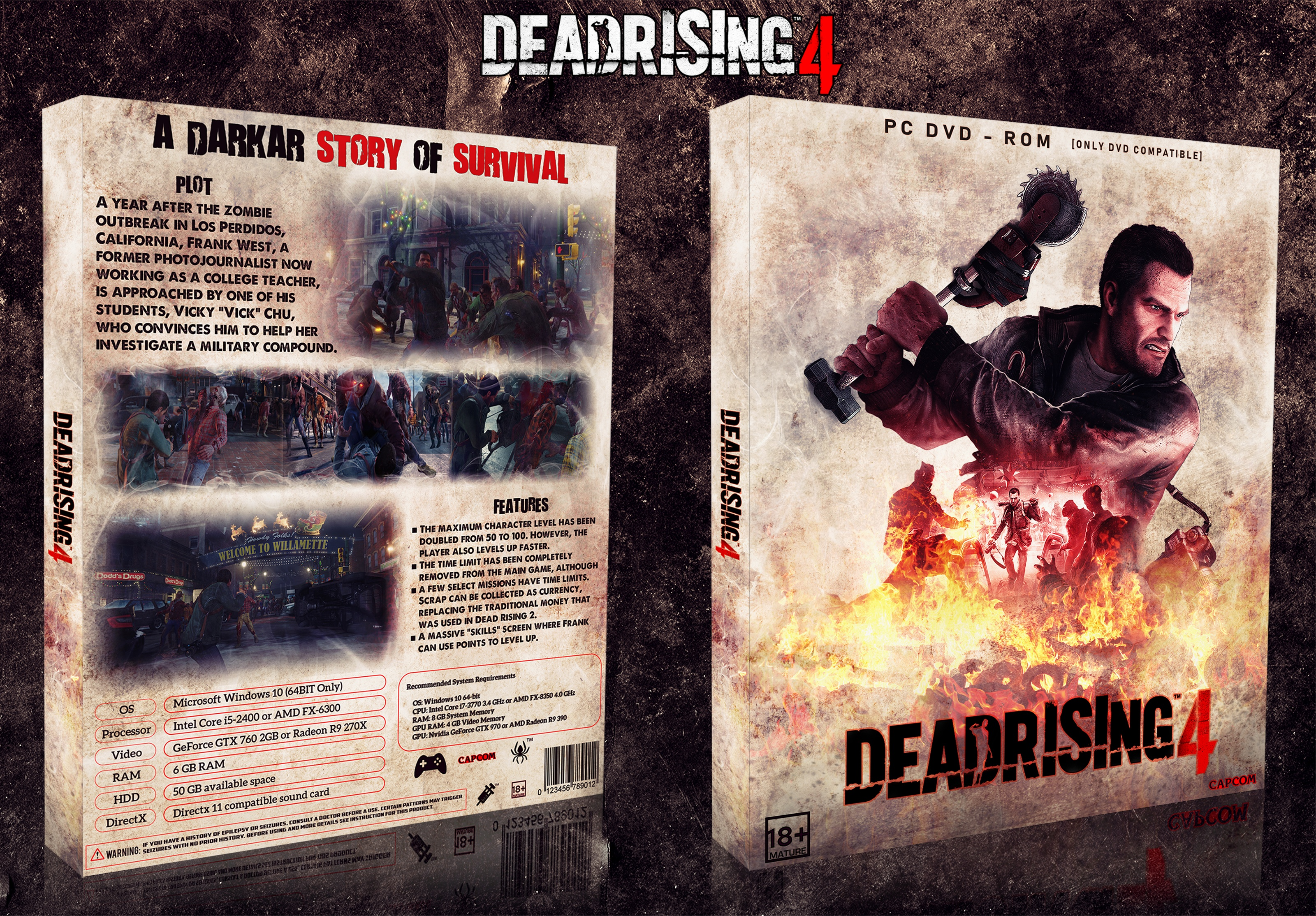 Dead Rising 4 box cover