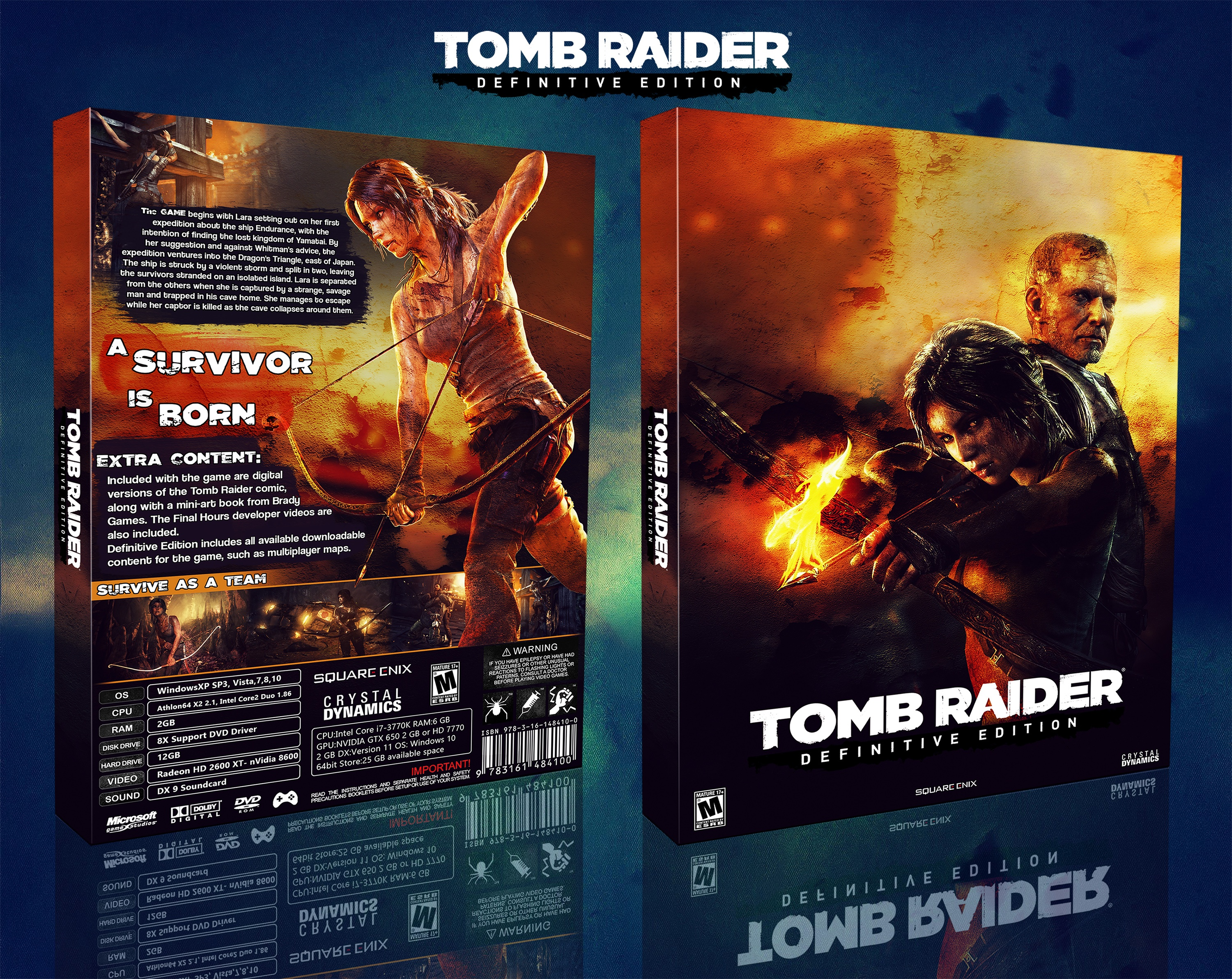 Tomb Raider : Definitive Edition box cover