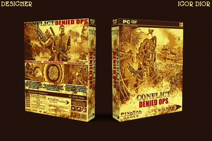 Conflict: Denied Ops box art cover