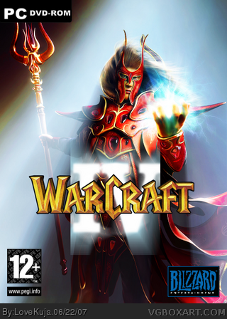WarCraft IV box cover