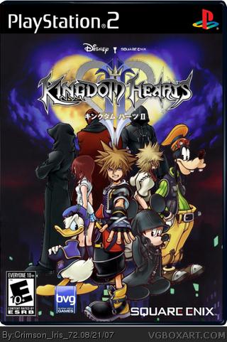 Kingdom Hearts Ii Playstation 2 Box Art Cover By Crimson Iris 72