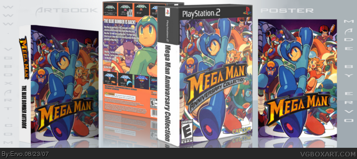 Mega Man Anniversary Collection box art cover