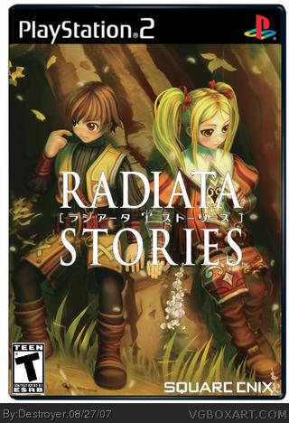 Radiata Stories Box Cover