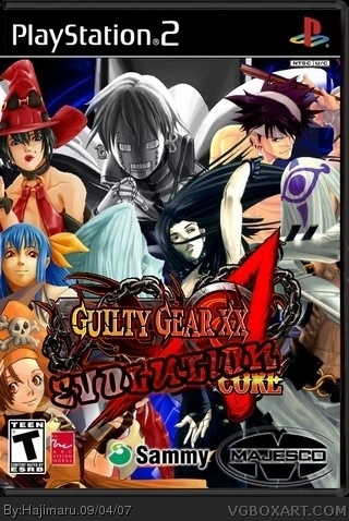 Guilty Gear  XX: Evolution box cover