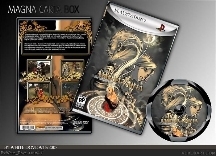 Magna Carta: Tears of Blood PlayStation 2 Box Art Cover by ...