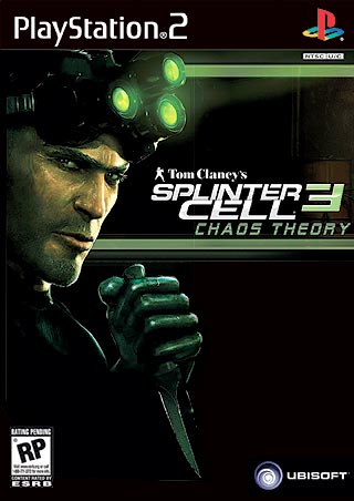 Tom Clancy's Splinter Cell: Chaos Theory box cover