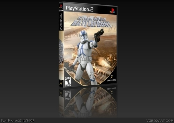 PlayStation 2 » Star Wars Battlefront III Box Cover