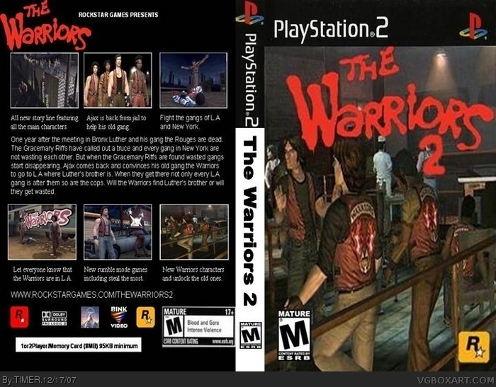 The Warriors 2 PlaySta...