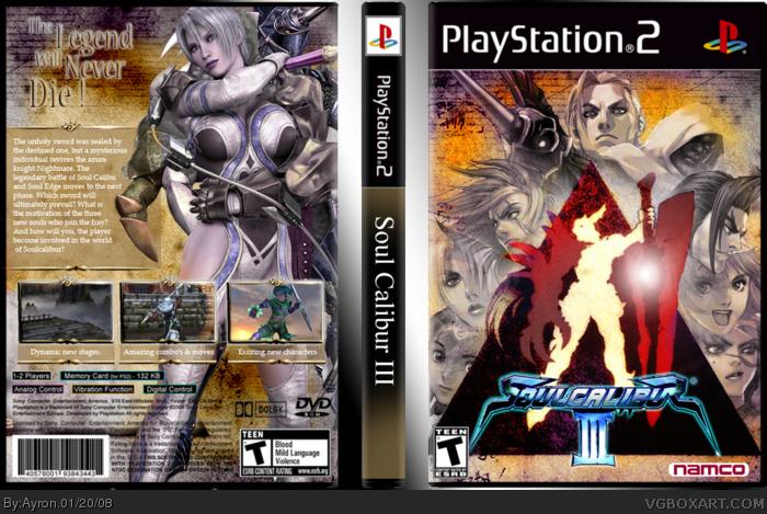 PlayStation 2 » Soul Calibur III Box Cover