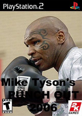 Mike Tyson S Punch Out 2006 Playstation 2 Box Art Cover By