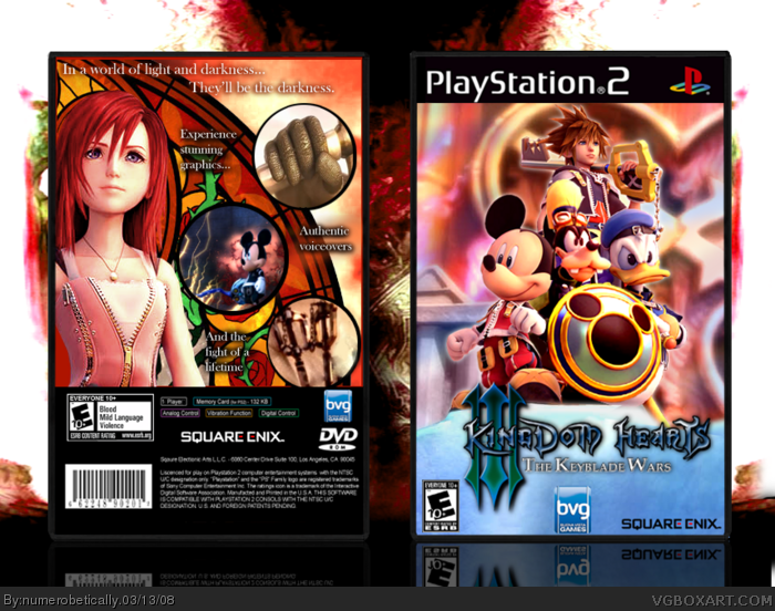 PlayStation 2 » Kingdom Hearts III: The Keyblade Wars Box Cover