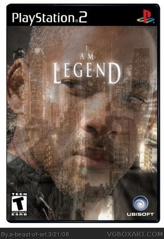I am Legend PlayStation 2 Box Art Cover by a-beast-of-art