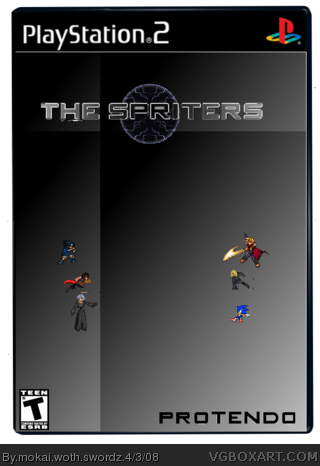 The Spriters box cover