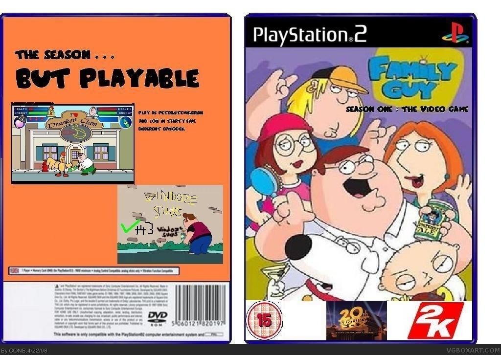 Family Guy The Games