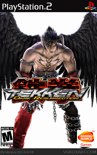 Tekken Dark Resurrection Playstation 2 Box Art Cover By Versus Xiii