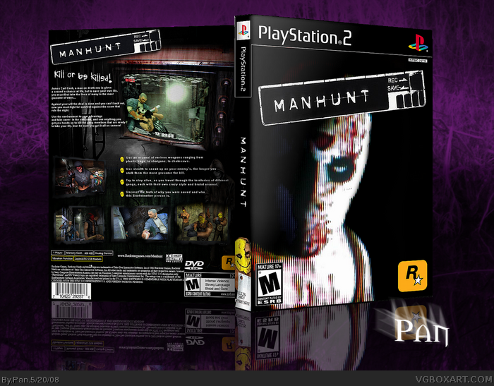 Manhunt box art cover