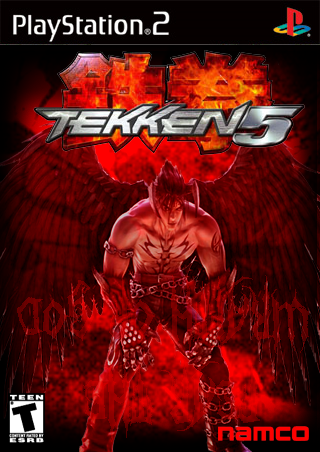 Tekken 5 Playstation 2 Box Art Cover By All Hail The New Flesh